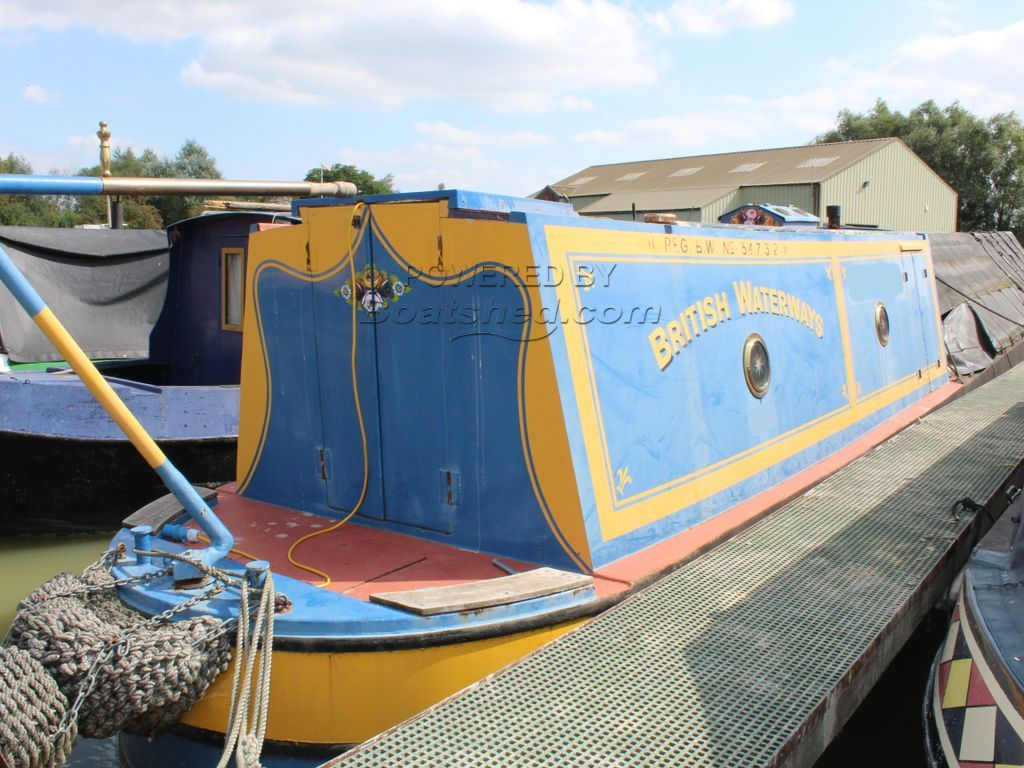Narrowboat 50ft Working Boat