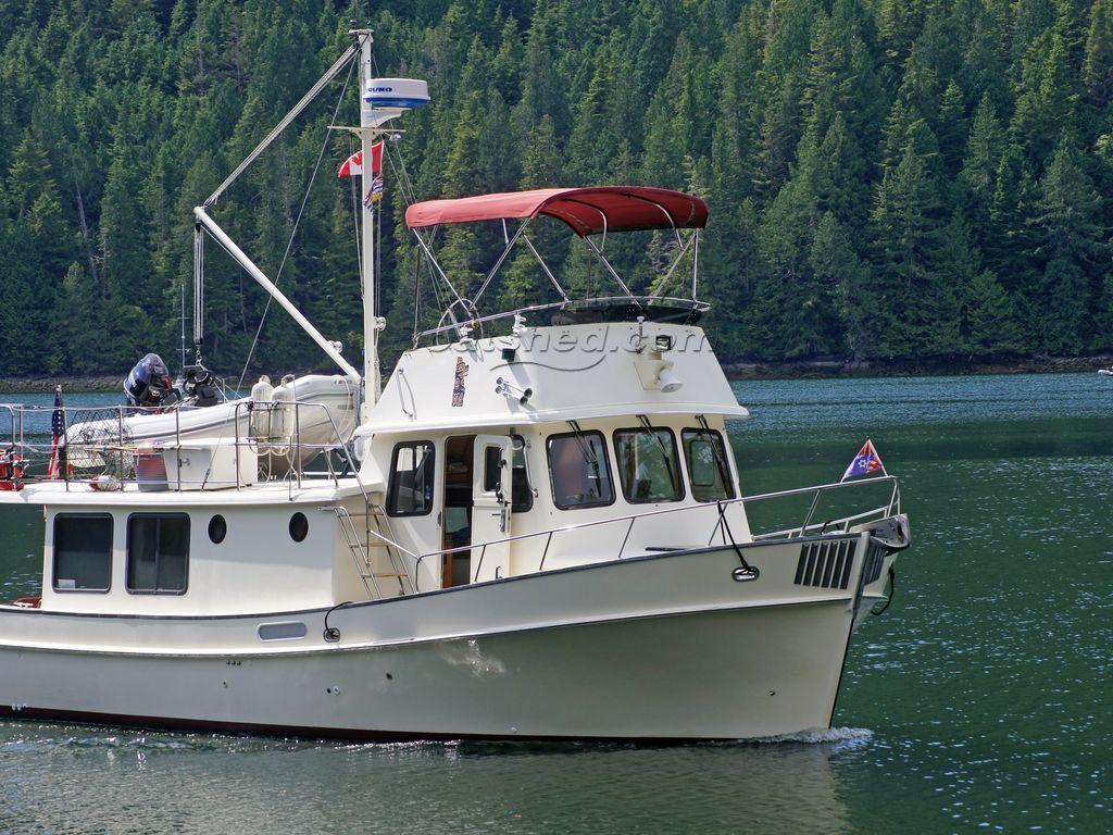 Pacific Trawlers 40 Pilothouse John Deere Diesel