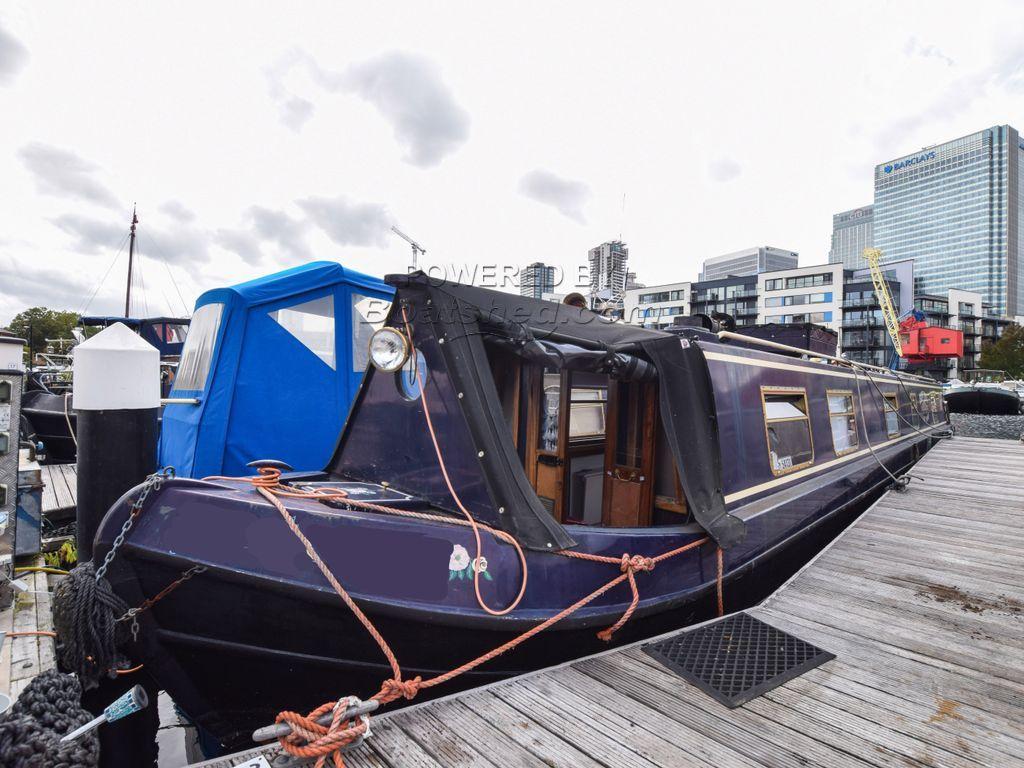 Narrowboat 55ft With London Mooring