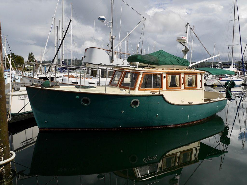Maple Bay 30 Pilothouse Trawler
