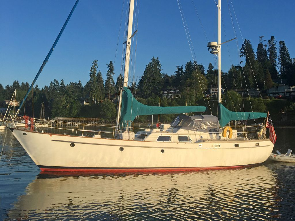Transpac 49 Ketch Offshore Cruiser -- Live Aboard
