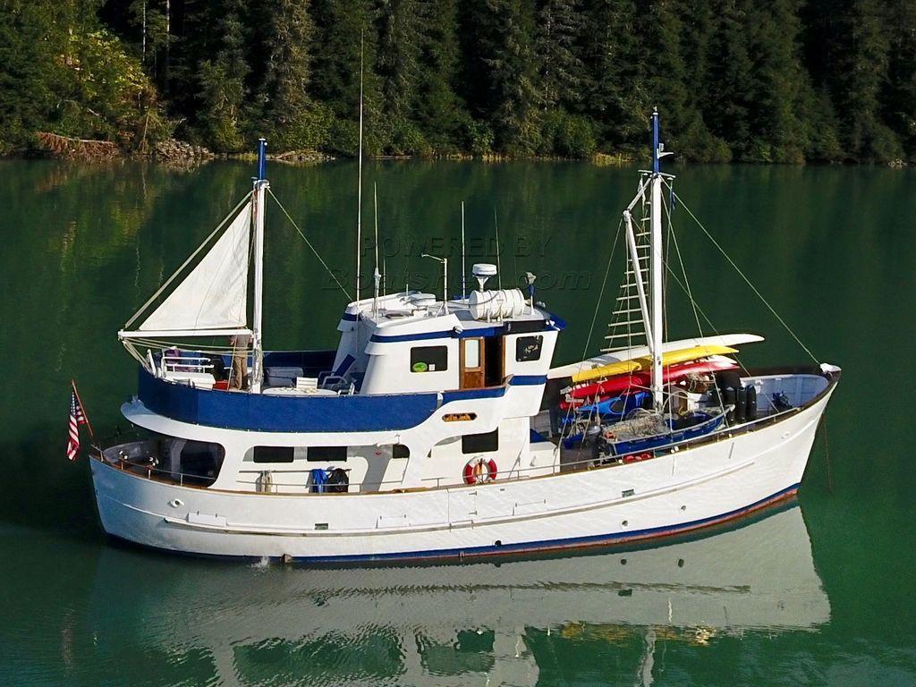 Southern Marine Malahide Trawler Yacht Pilothouse