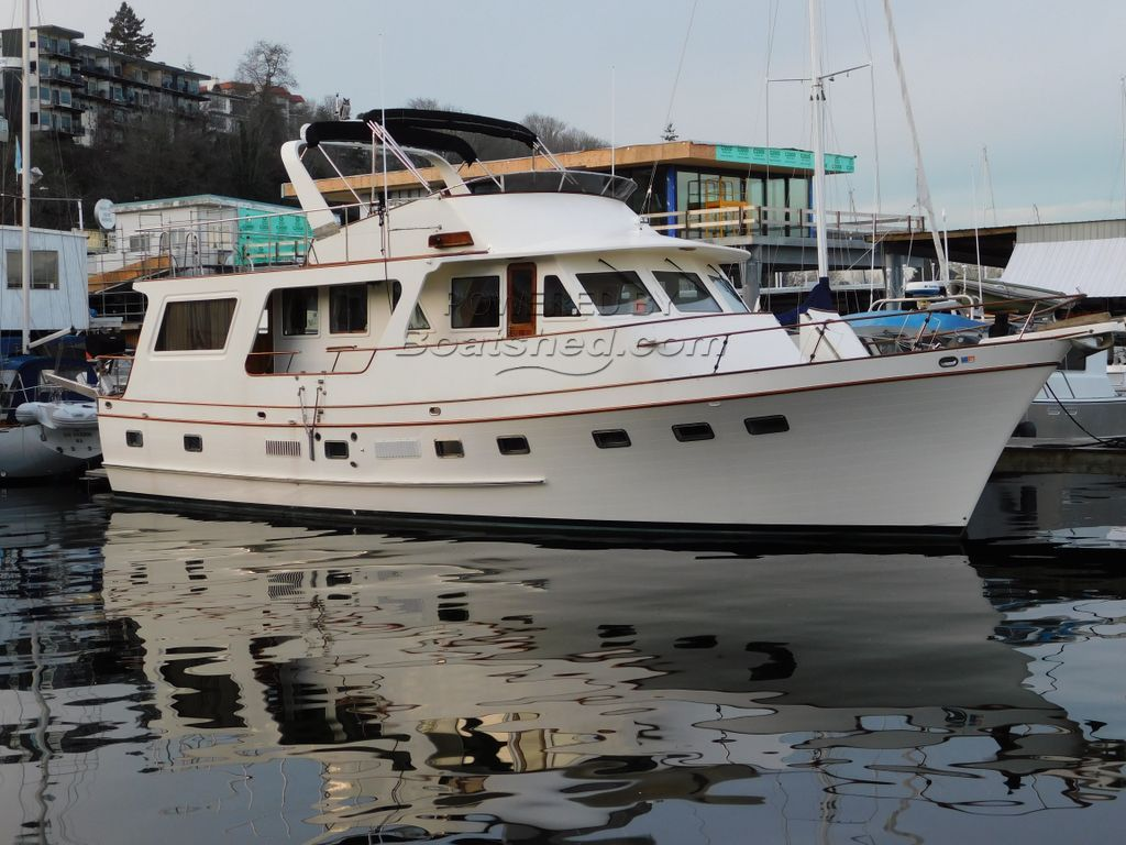 DeFever 60 Flush Deck Trawler