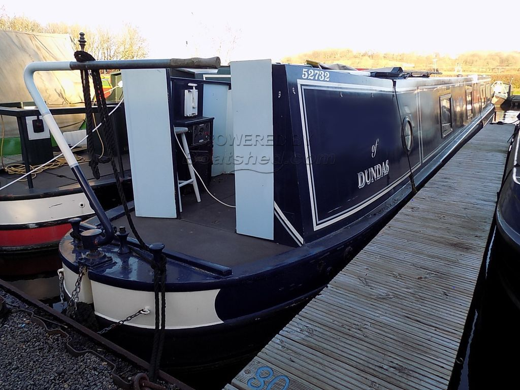 Narrowboat 55ft Semi Trad