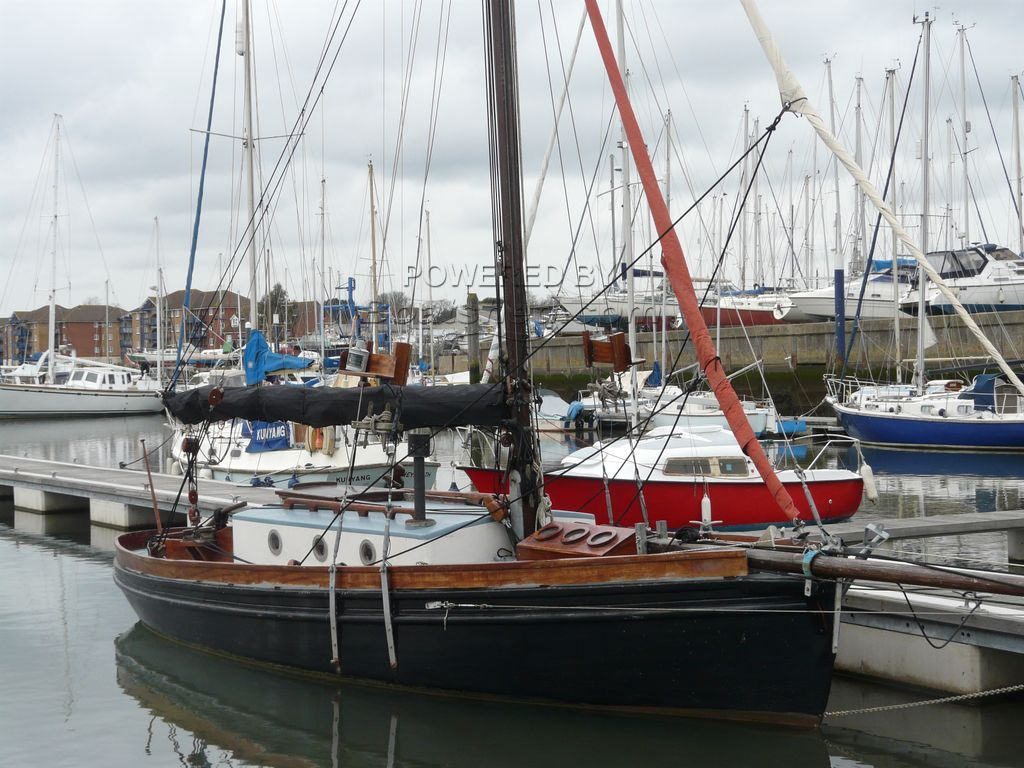 Morecambe Bay Prawner Replica In GRP