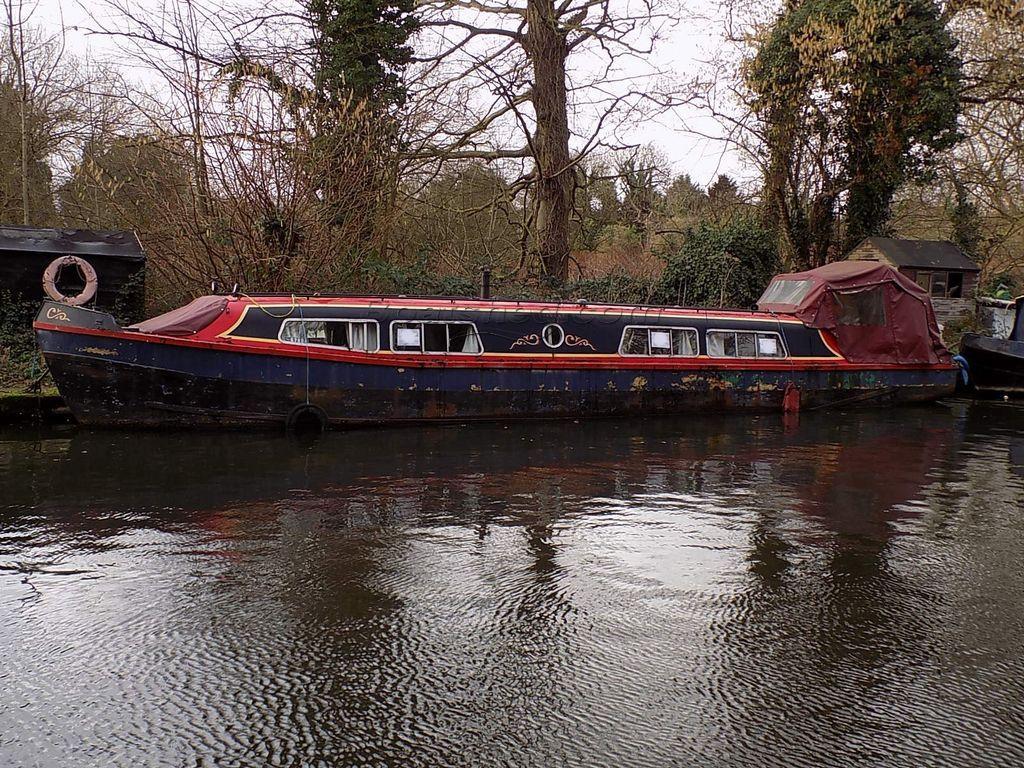 Narrowboat 45ft Ex British Waterways