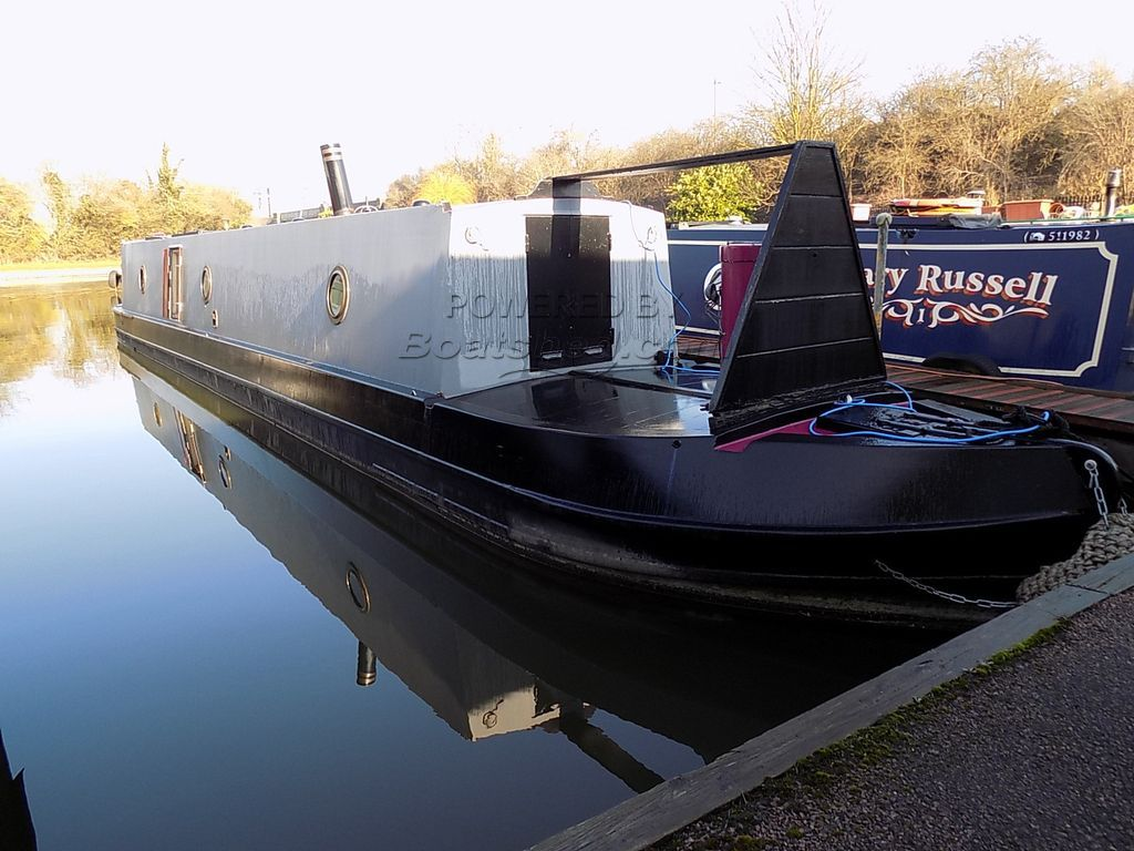 Narrowboat 50ft Trad Stern Tug Deck Bow