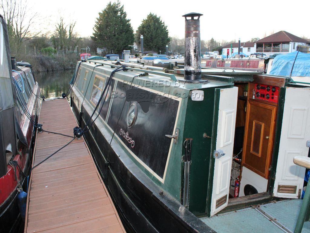 Narrowboat 45ft Trad Stern