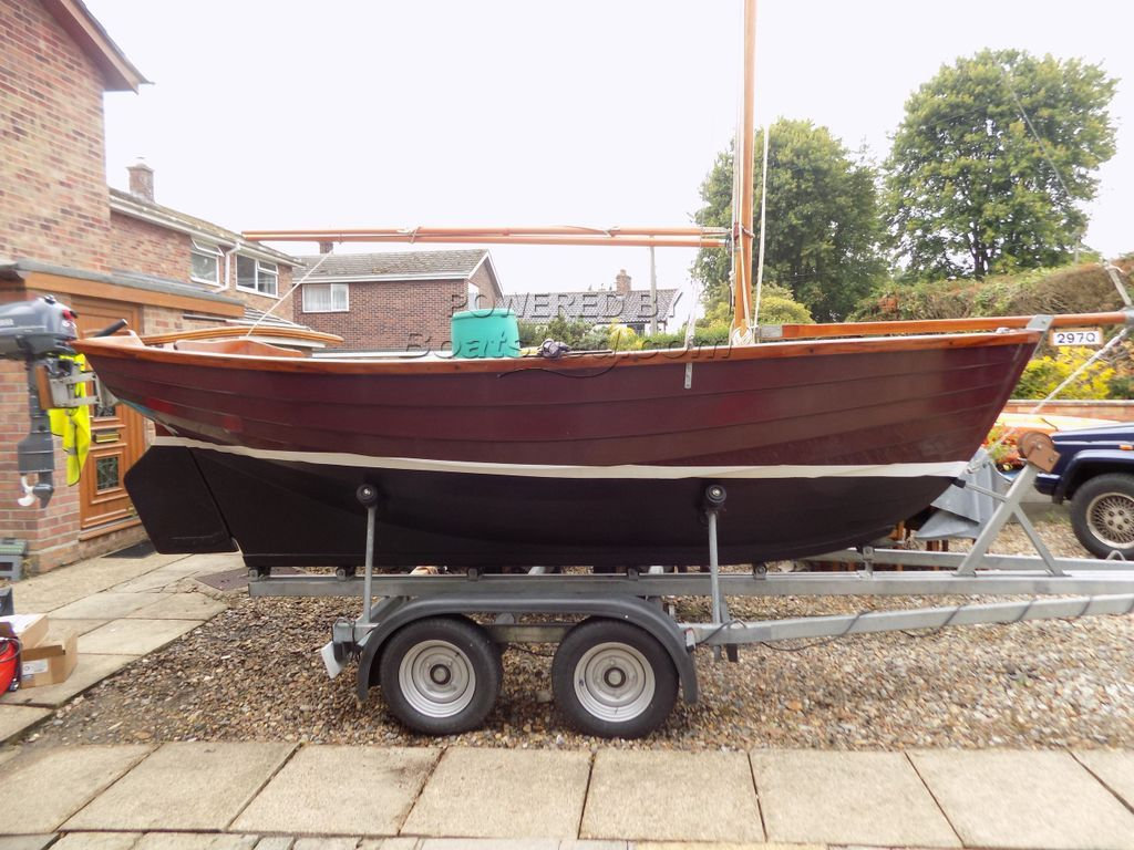 Manx Day Boat Complete With Trailer!