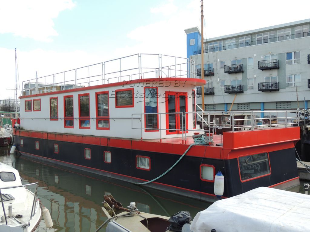 Custom Built Houseboat