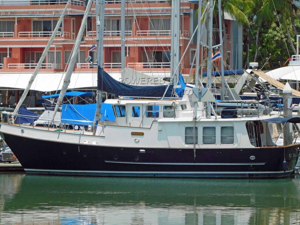 Nordhavn 46 Long Range Trawler Yacht