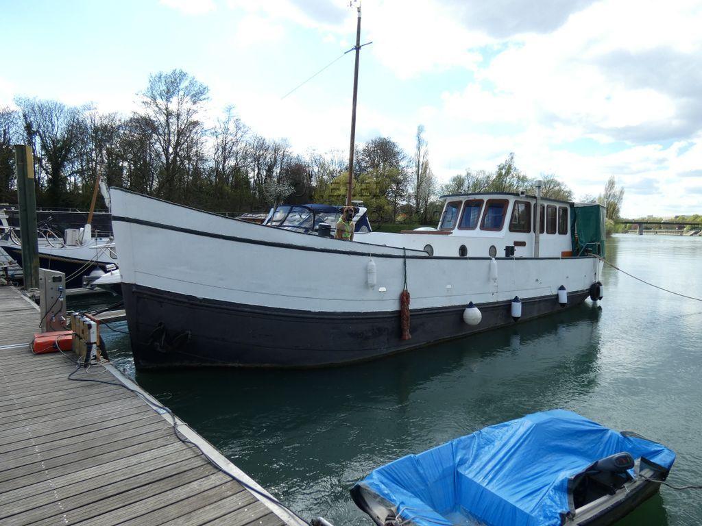 Dutch Steel Cruiser Ex Fishing Boat Converted