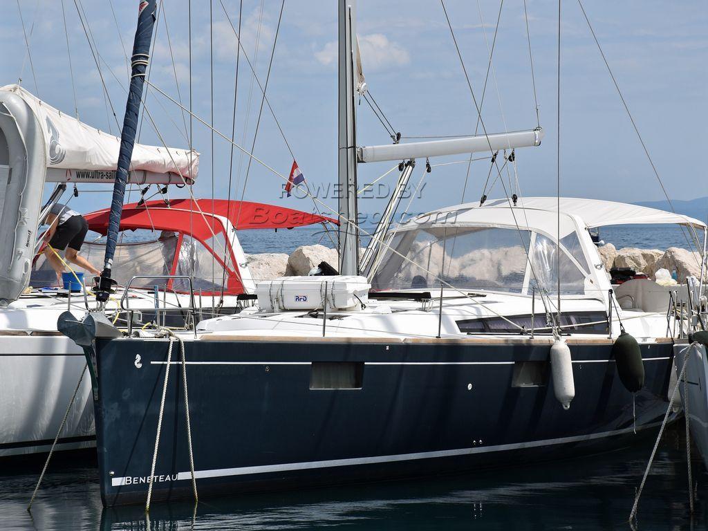 Beneteau Oceanis 48 4 Cabin Layout