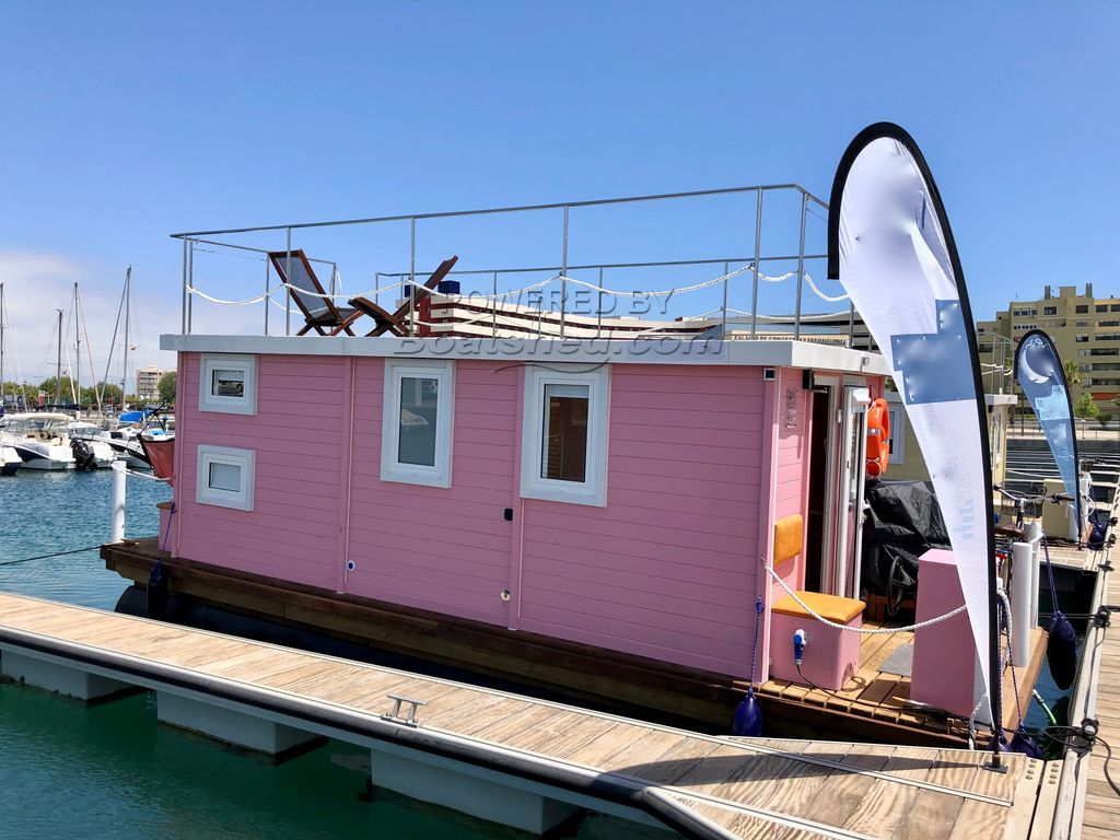 Houseboat Company Catamaran Homeboat
