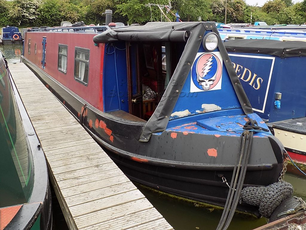 Narrowboat 50ft Cruiser Stern