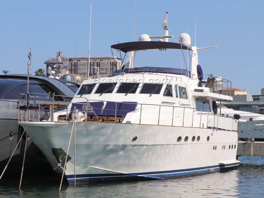 Cantieri Navali Mediterranea Boretti Mareggio 23m