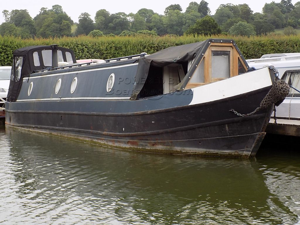 Narrowboat 50ft Cruiser Stern  - GRP Top