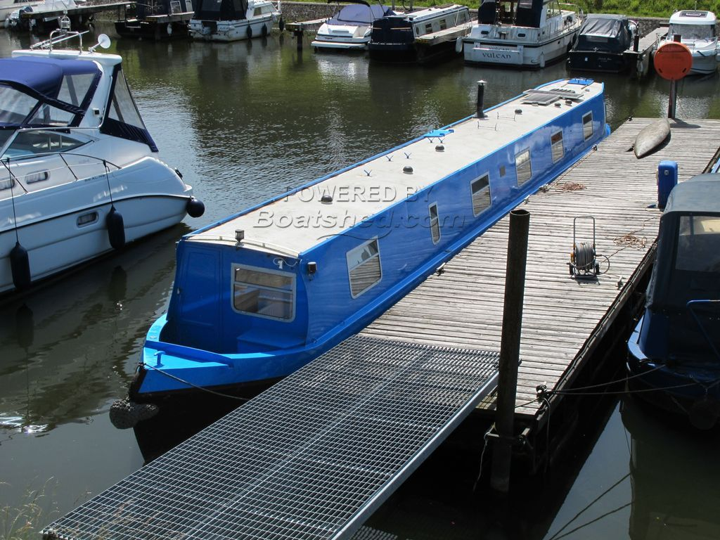 Narrowboat 65ft Trad Stern