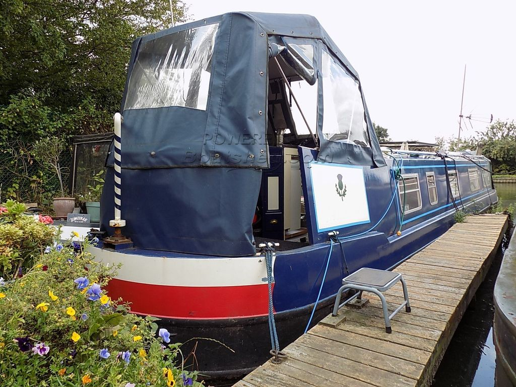 Narrowboat 45ft Cruiser Stern