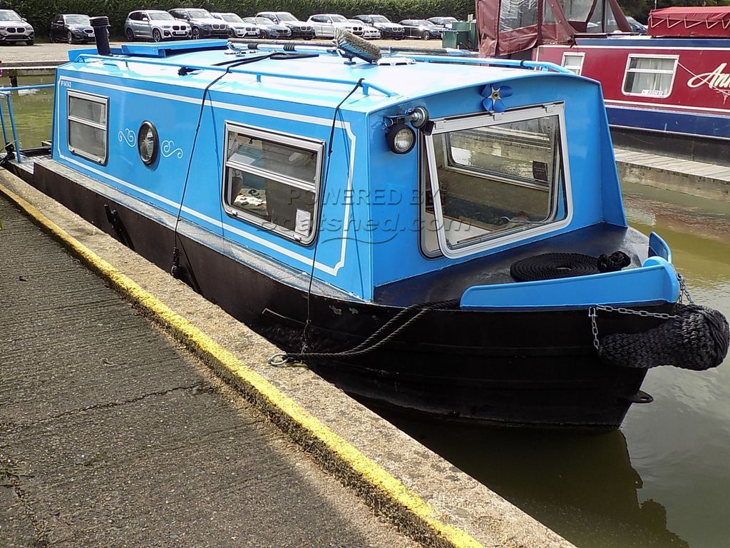 Narrowboat 23ft Cruiser Stern Waterbug