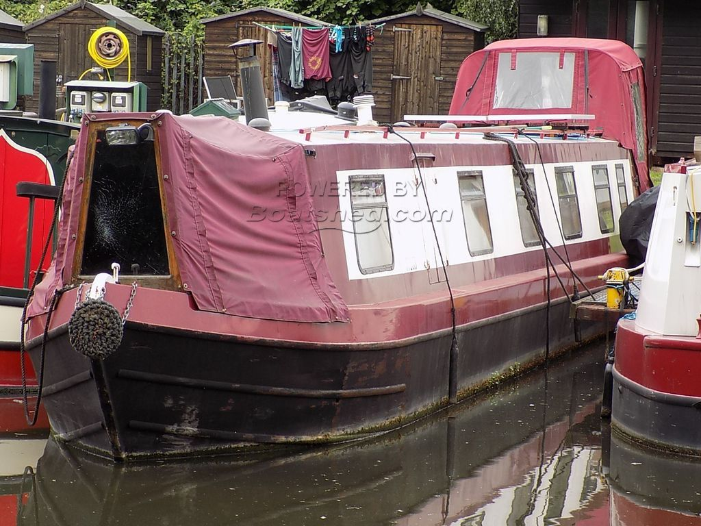 Narrowboat 56ft Cruiser Stern
