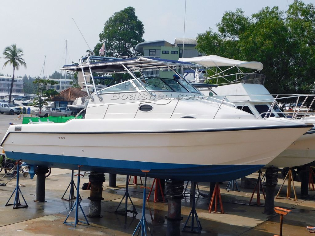 Gulf Craft 31Walk Around Single Diesel
