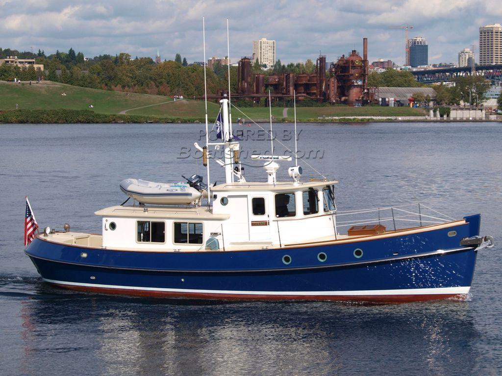 Devlin Sockeye 45 Fantail Motor Trawler