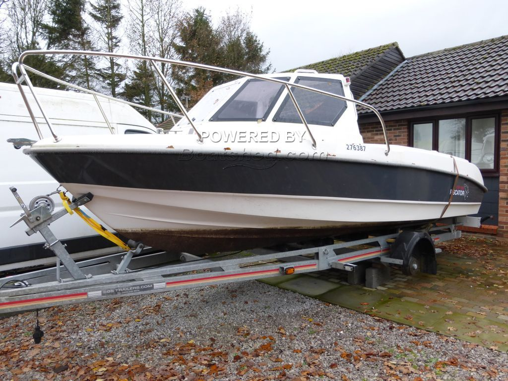 Silver Marine Piscator 580 FRP