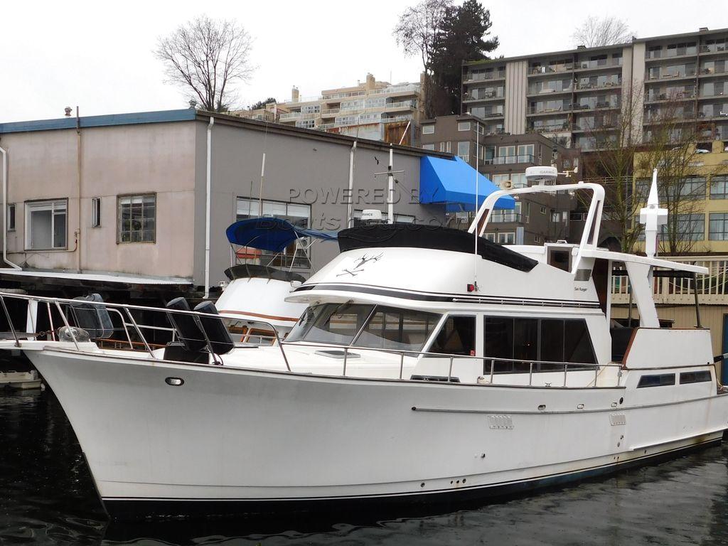 Sea Ranger 52 Cockpit Sundeck Trawler