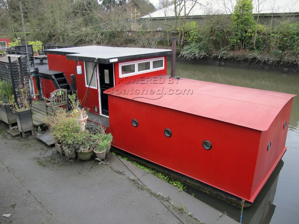 Houseboat 45ft With London Mooring