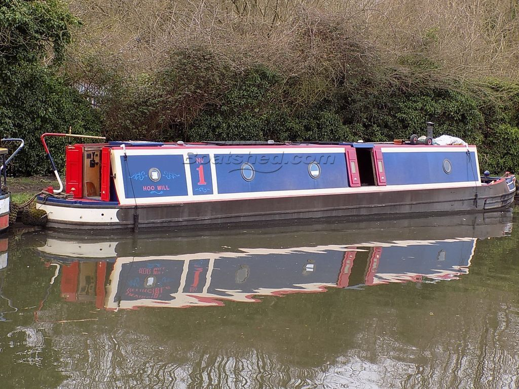 Narrowboat 46ft Trad Stern