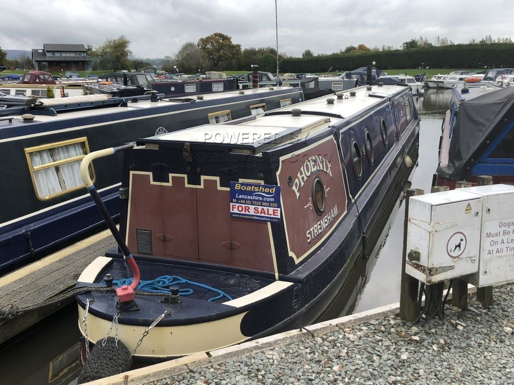 Narrowboat 53ft Trad Stern