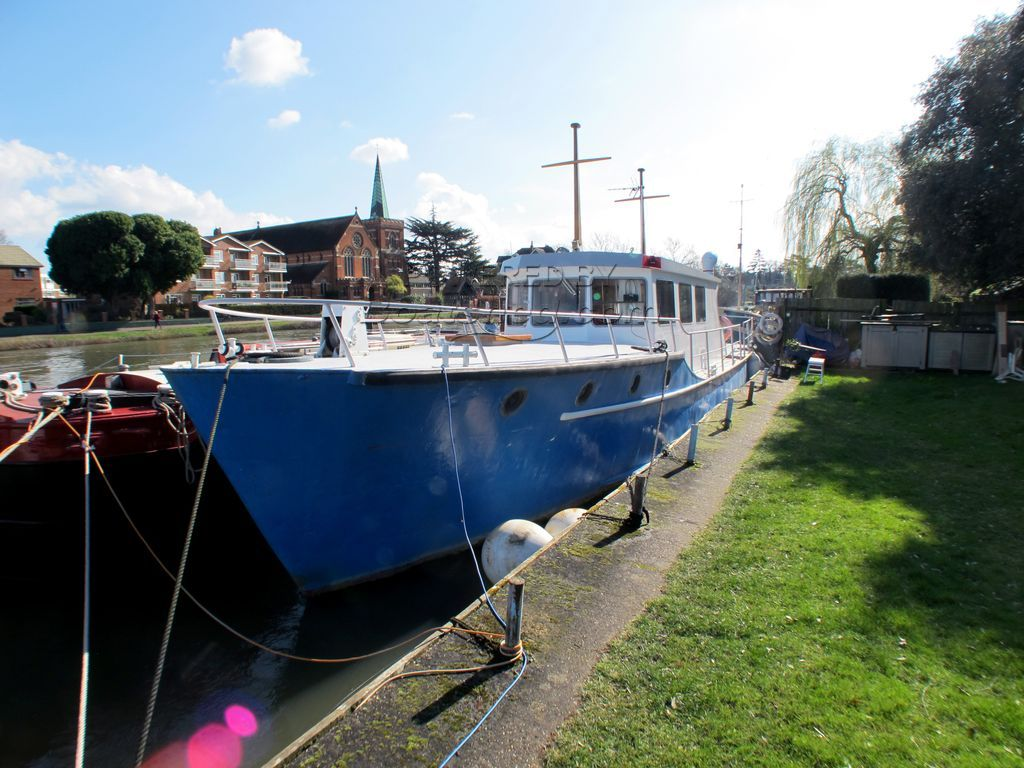 Patrol Vessel 55ft With Residential Mooring