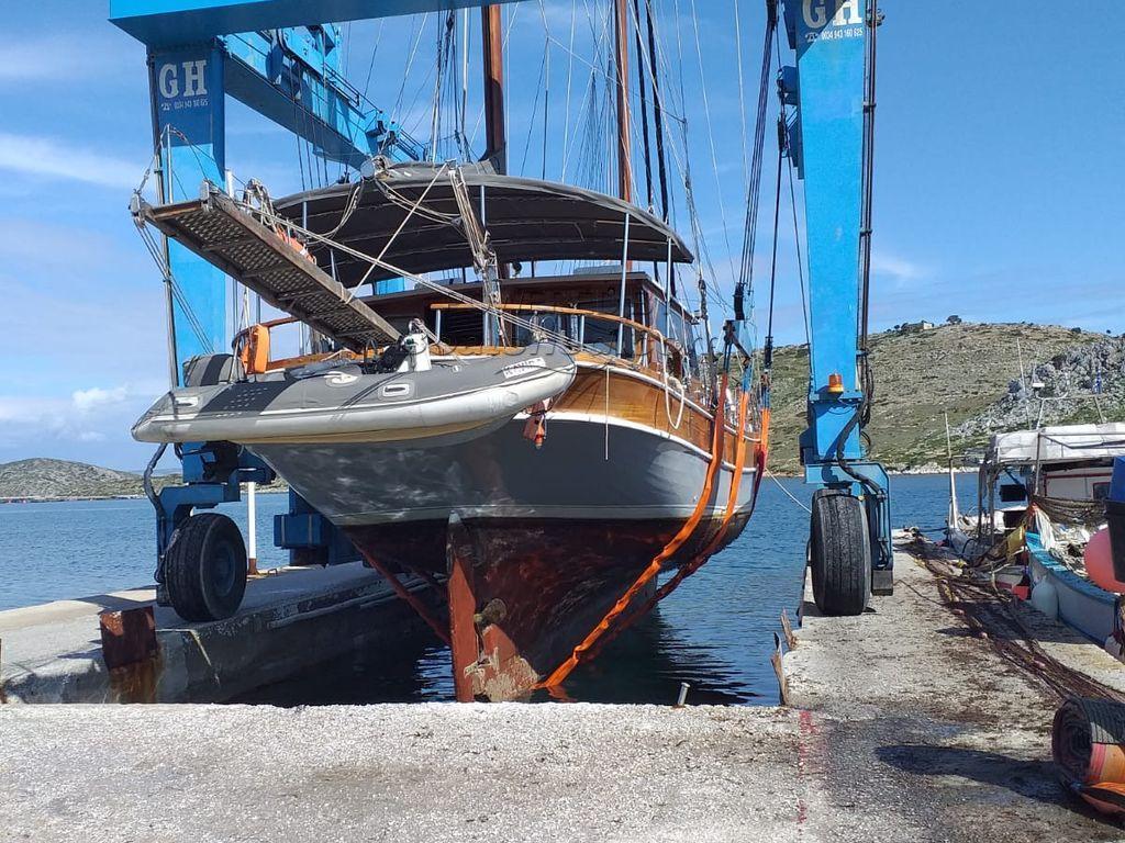 Turkish Ketch Motor Sailer Cutter Rig