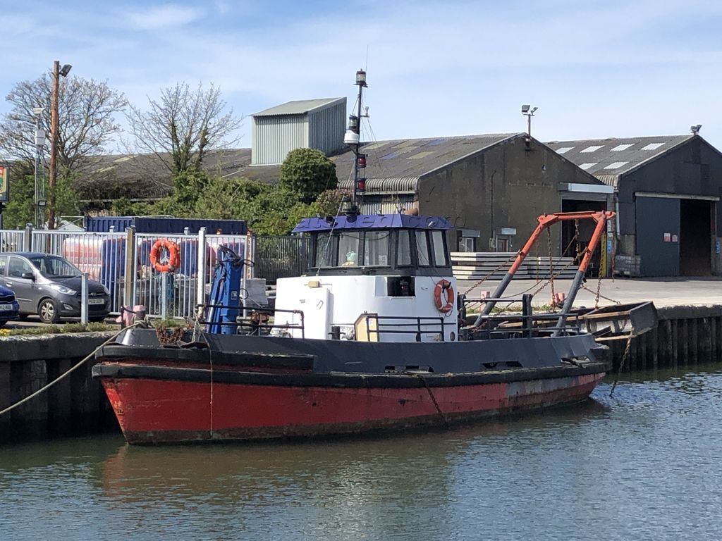 Richard Dunston Tug Workboat