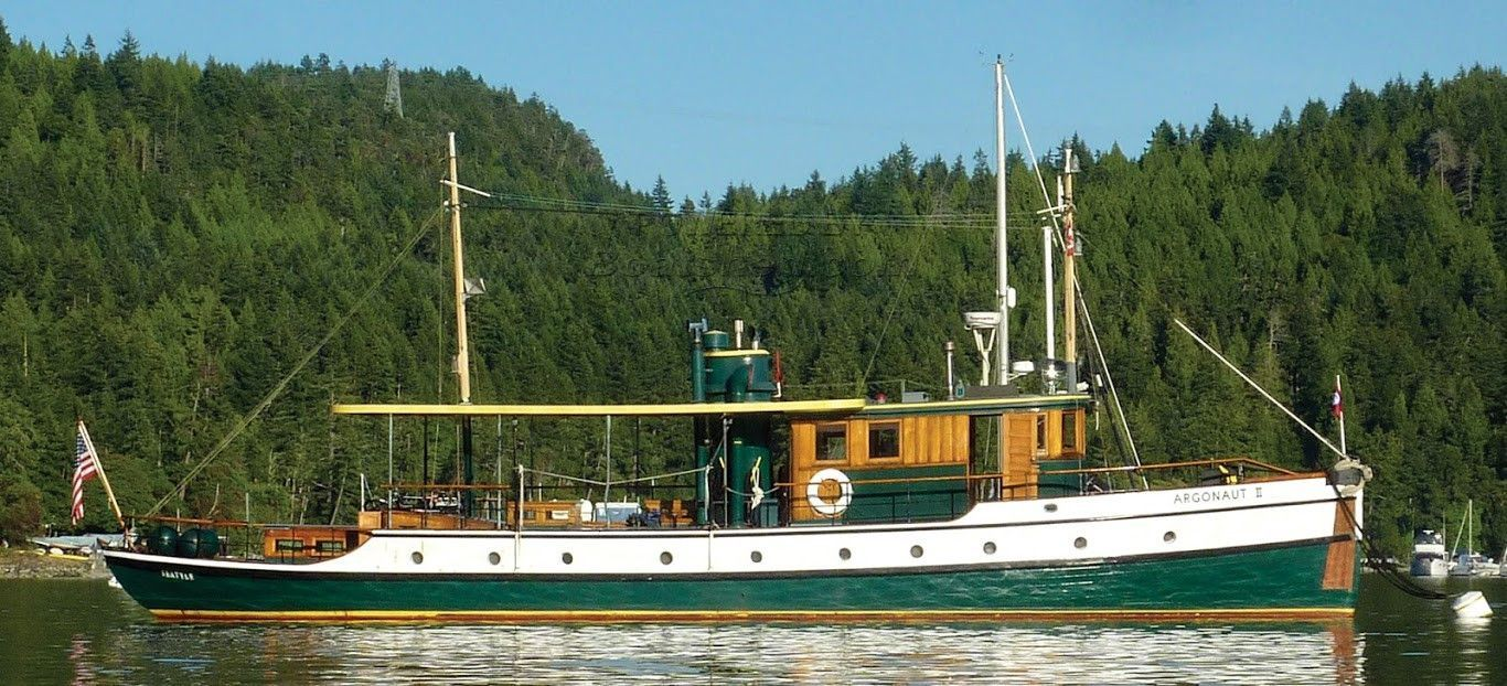 Classic 73' Double-Ended Motor Yacht Historical Northwest Cruiser
