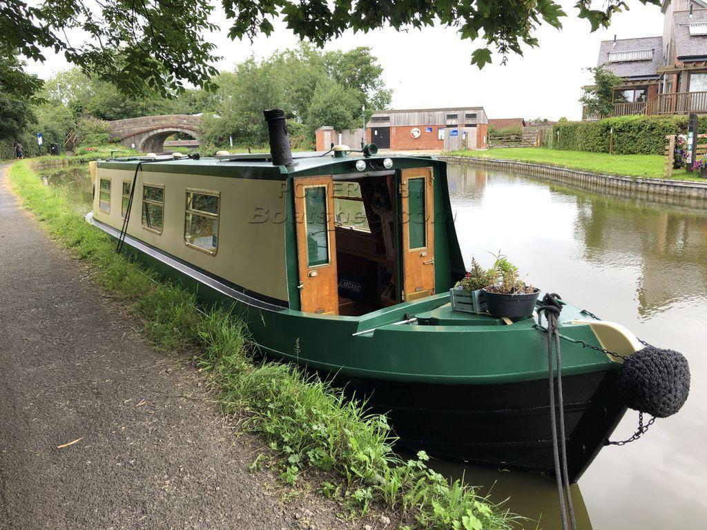 Narrowboat 37ft Trad Stern