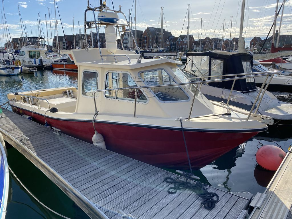 Hellraiser 223 HR223 - The Ultimate 22ft Fast Sea Angling/Patrol Craft