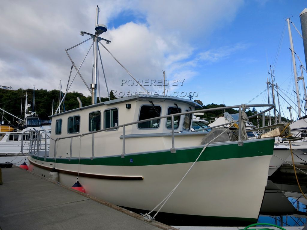 Albion Boat Works 37' Yacht Conversion