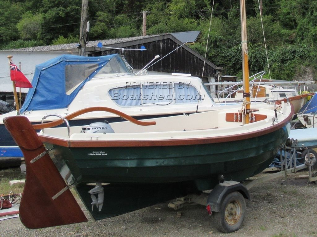 Character Boats - Post Boat Gaff Sloop Rig