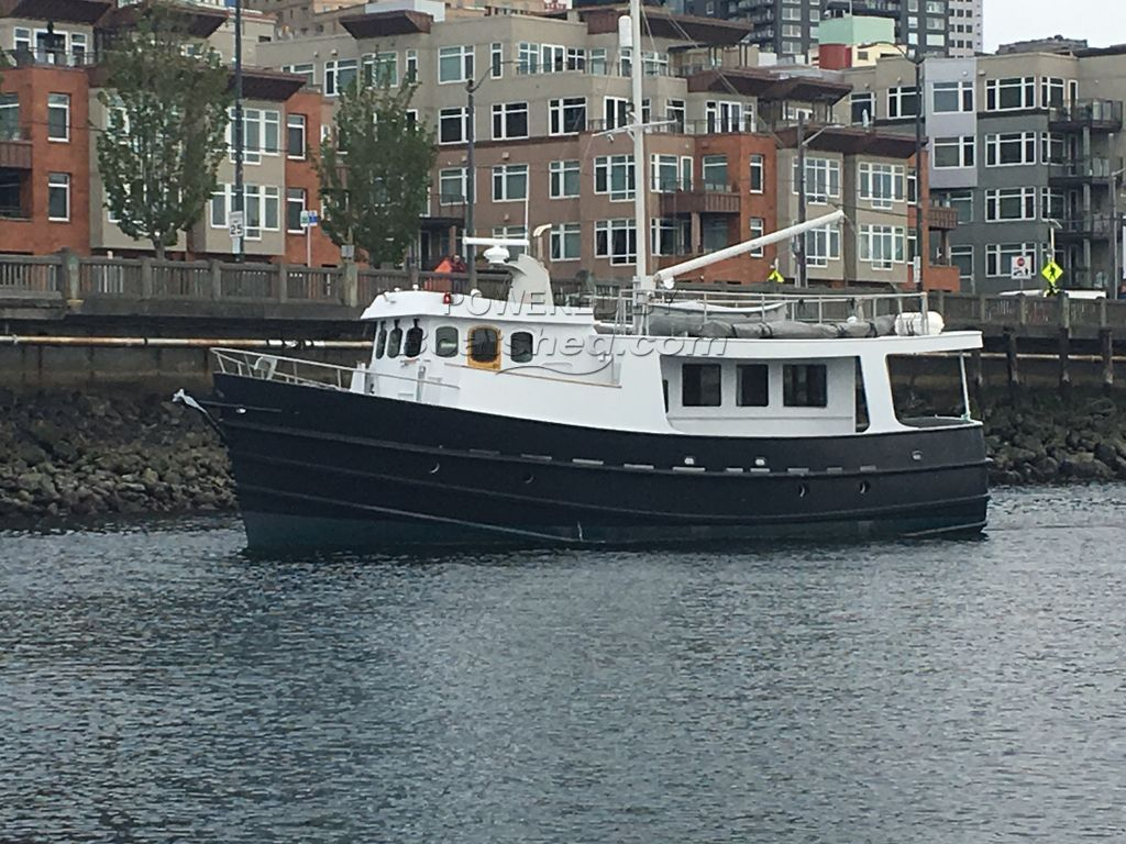 Halmatic 50 Expedition Trawler