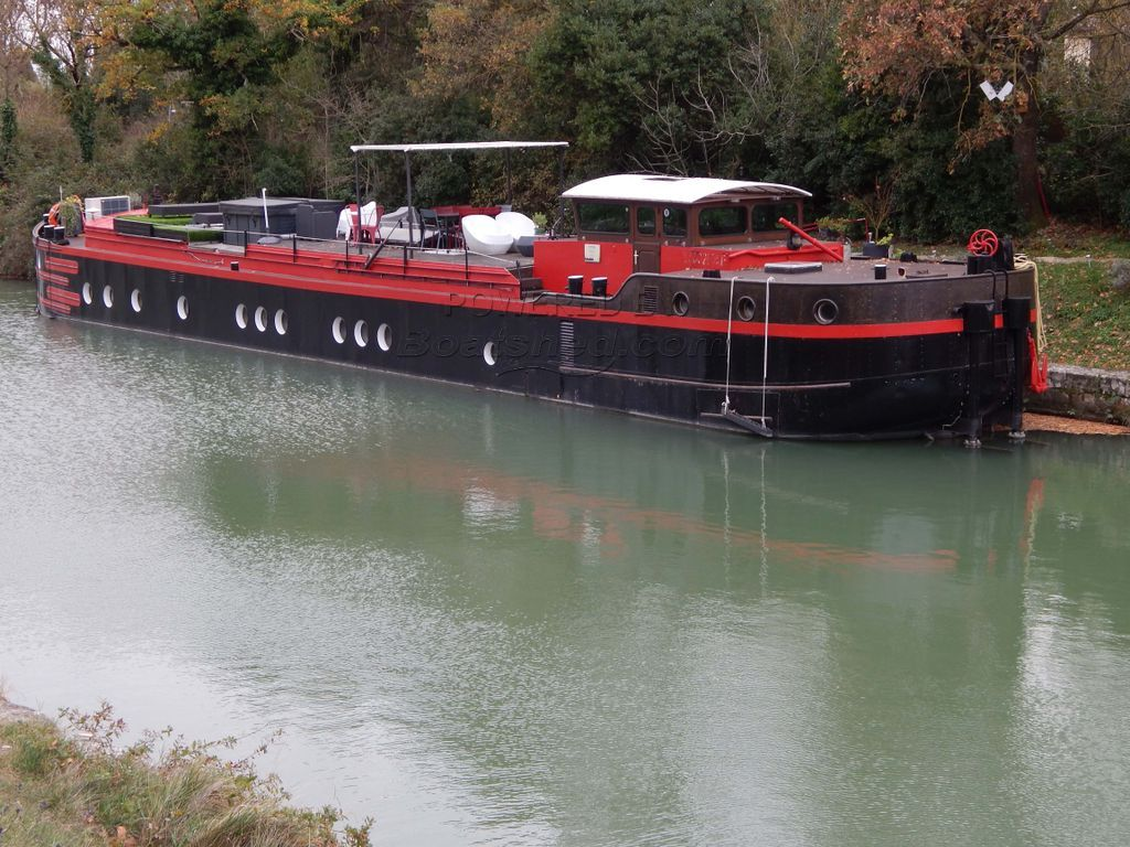 Barge Live Aboard 4 Cabins With Ensuite & Huge Terrace With Jacuzzi