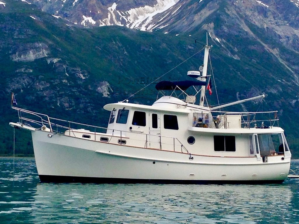 Kadey Krogen 39 Pilothouse Trawler John Deere 4045