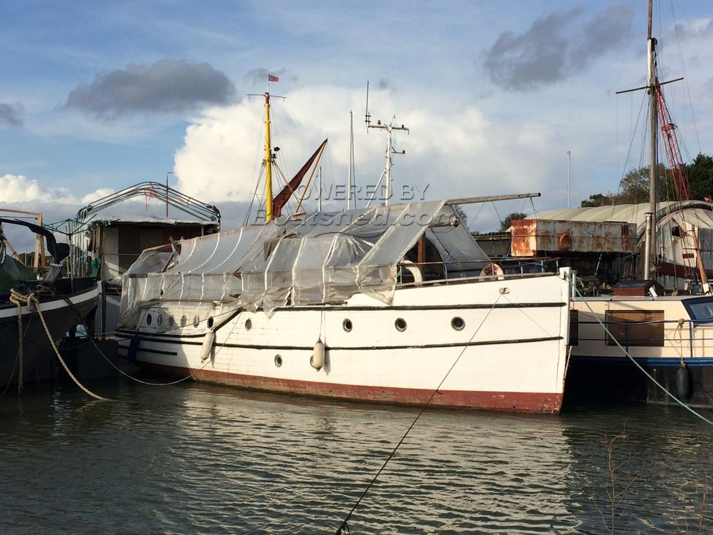 Classic Wooden Motor Yacht Traditional One Off Build