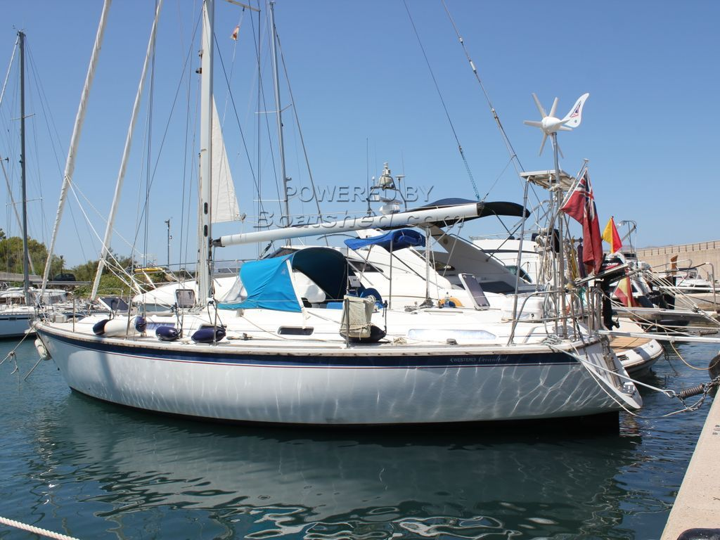 Westerly Oceanlord 41 Cutter Rigged