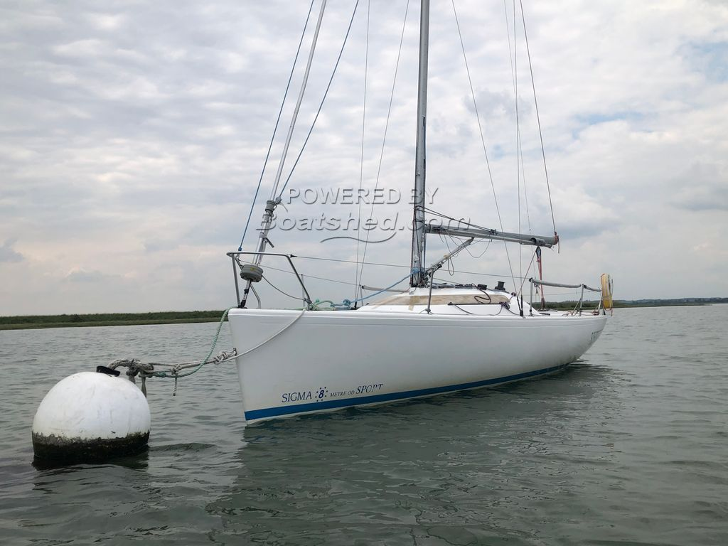 Sigma 8 Metre Sport Complete With Trailer & Outboard Engine