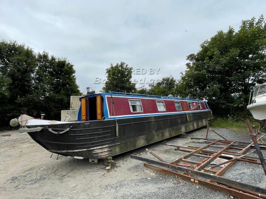 Narrowboat 50ft Cruiser Stern