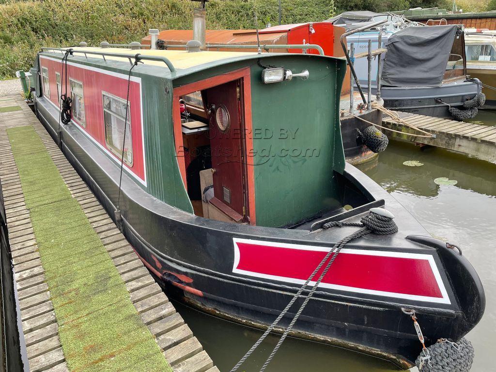 Narrowboat 36ft Cruiser Stern