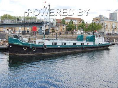 Dutch Shipyard Dutch Barge Houseboat For Sale, 22 11m, 1928