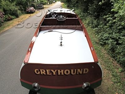 Classic Gentlemans Raceboat Cold-Molded Restoration